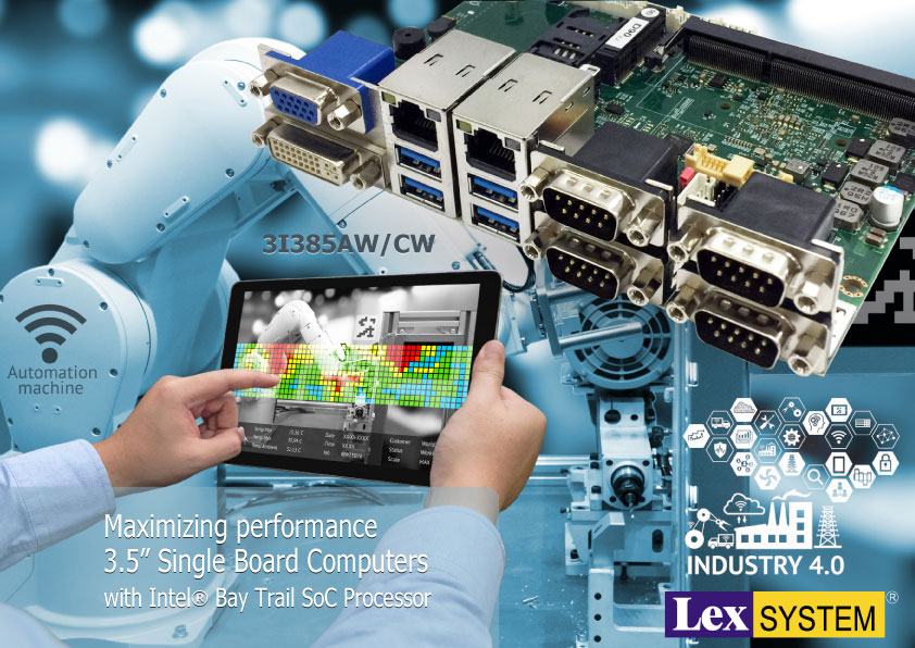 "3I385AW/ 3I385CW - Maximizing performance 3.5"" Single Board Computers with Intel® Bay Trail SoC Processor"