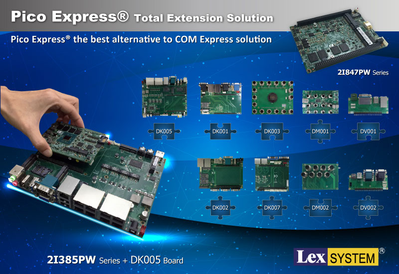 2I385PW - Pico Express® Total Extension Solution